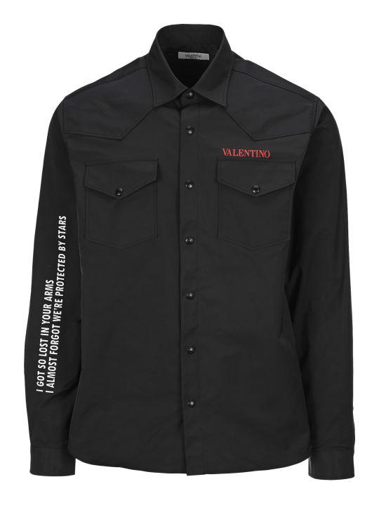 Valentino Moon Print Shirt