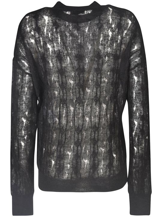 Nina Ricci Semi See-through Detail Jumper