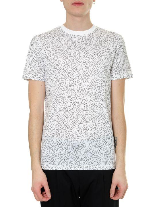 Dior Homme Alphabet White Cotton T-shirt