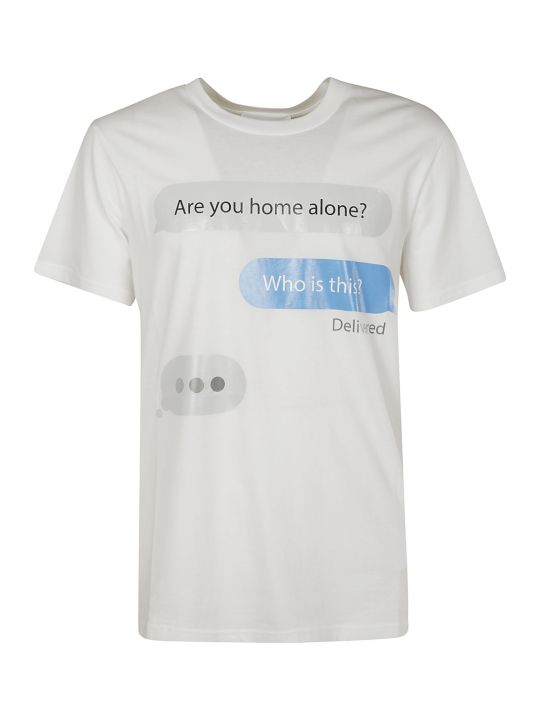 Moschino Are You Home Alone? T-shirt