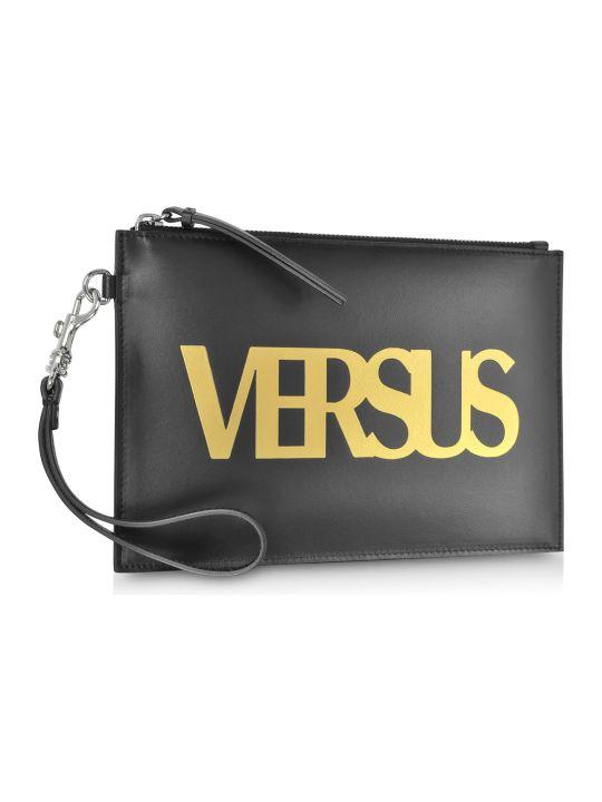 Versus Versace Versace Versus Black Leather Versus Pouch