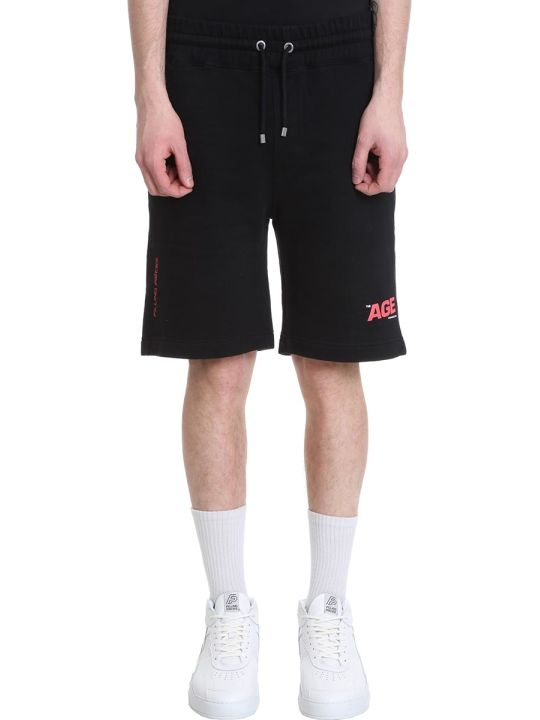 Filling Pieces Black Cotton Shorts