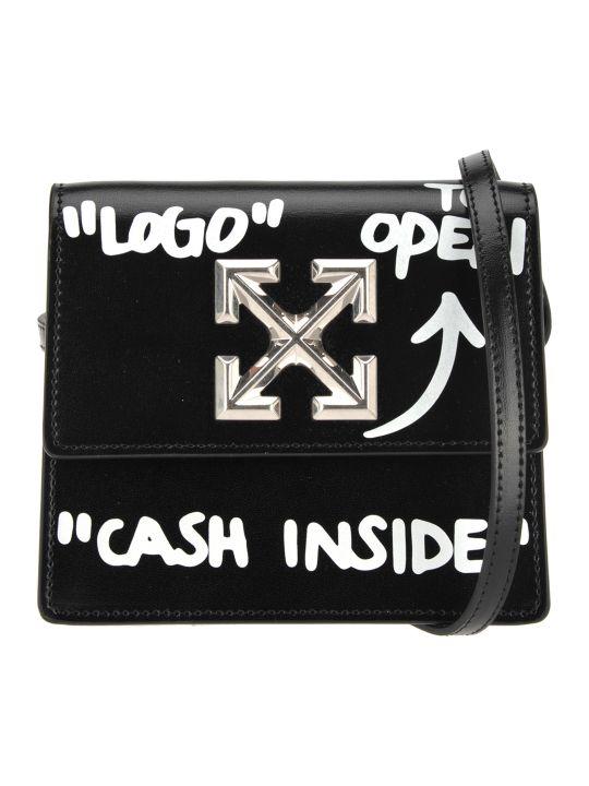 Off-White Off White Jitney 0.7 Cash Inside Crossbody Bag