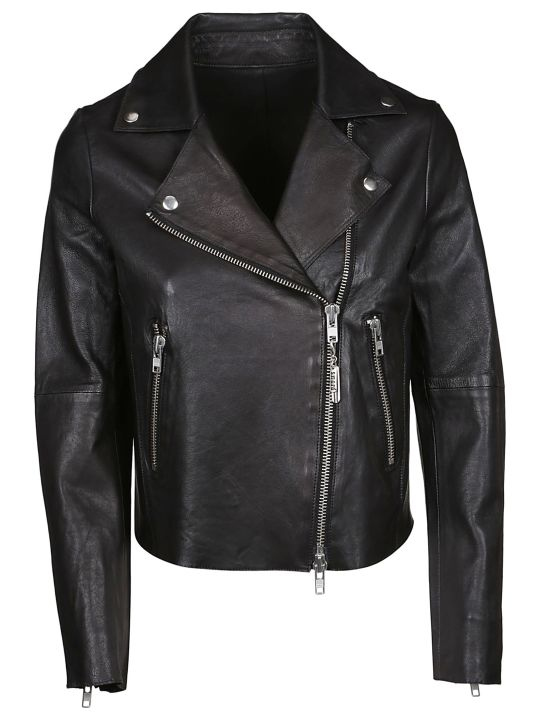 S.W.O.R.D 6.6.44 Sword Zip-up Biker Jacket