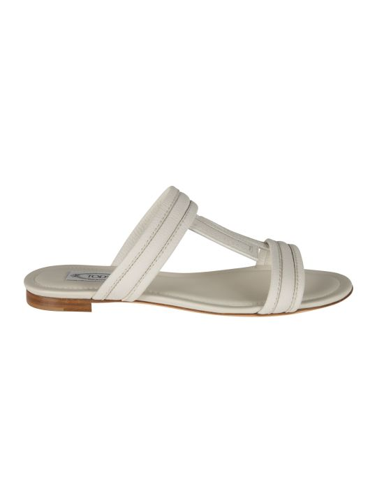Tod's Double T Flat Sandals