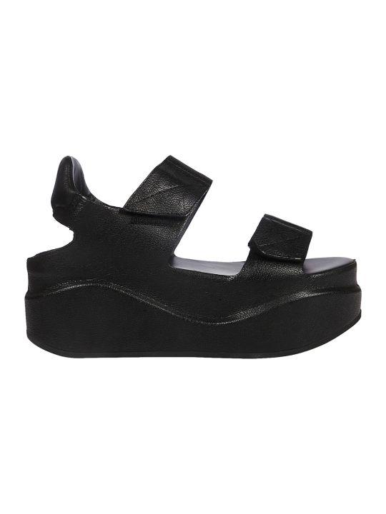 Roberto del Carlo Touch Strap Platform Sandals