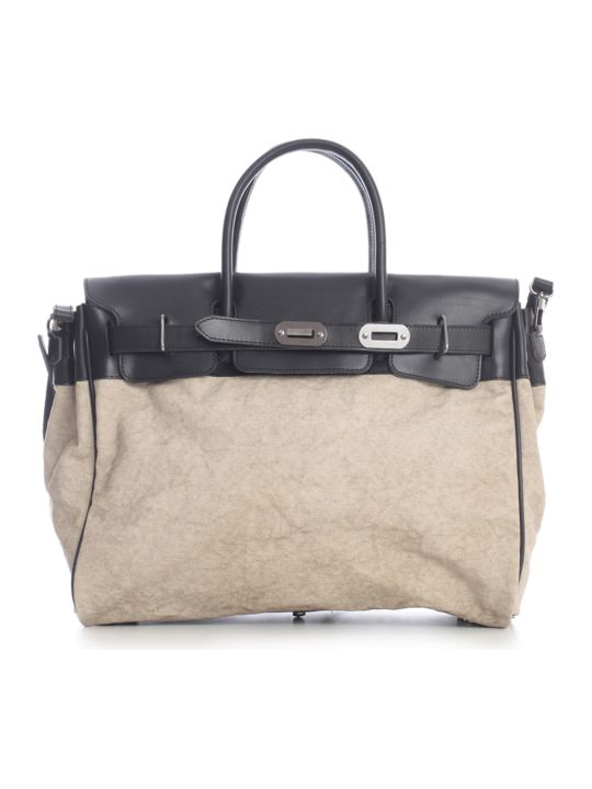 Numero 10 Canvas Luggage Bag
