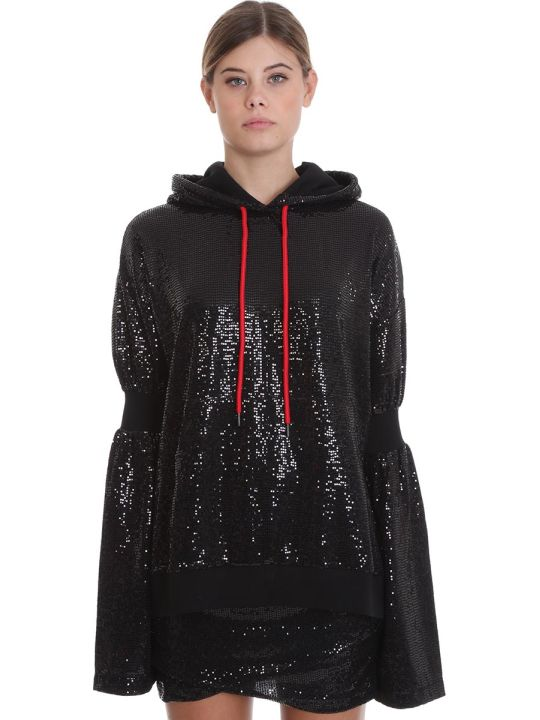 Marcelo Burlon Sweatshirt In Black Cotton