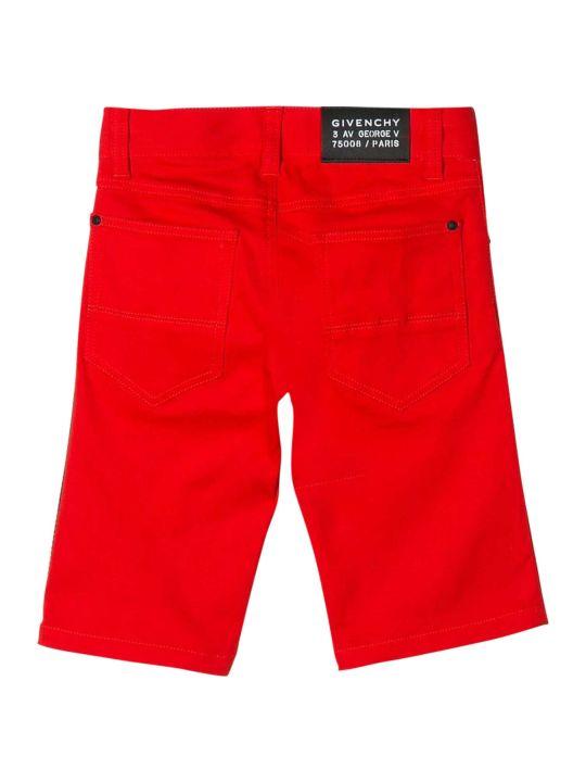 Givenchy Kids Logo Shorts