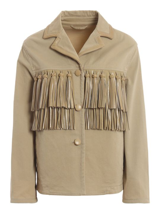 Ermanno Scervino Tassel Embellished Jacket