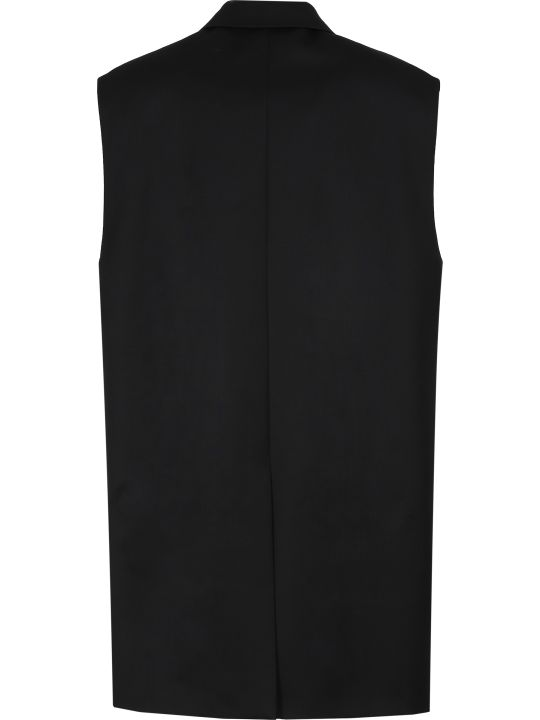 Miu Miu Wool Double-breasted Waistcoat