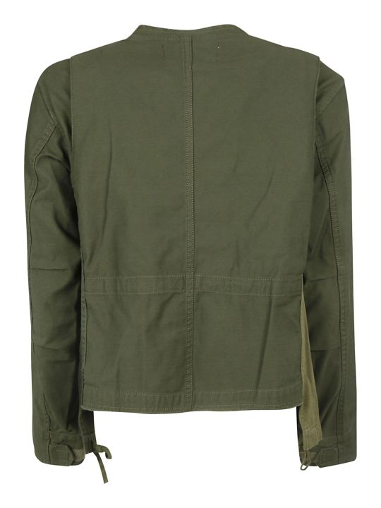 Zucca Multiple Patched Detail Jacket
