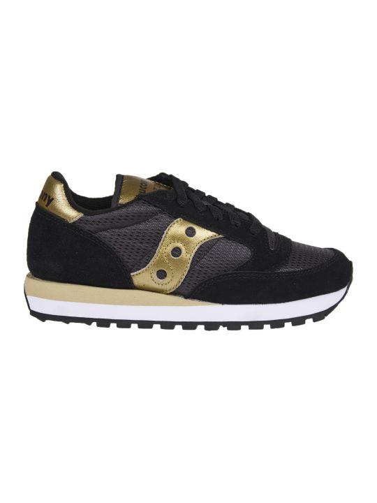 Saucony Black And Gold Jazz Original Sneakers