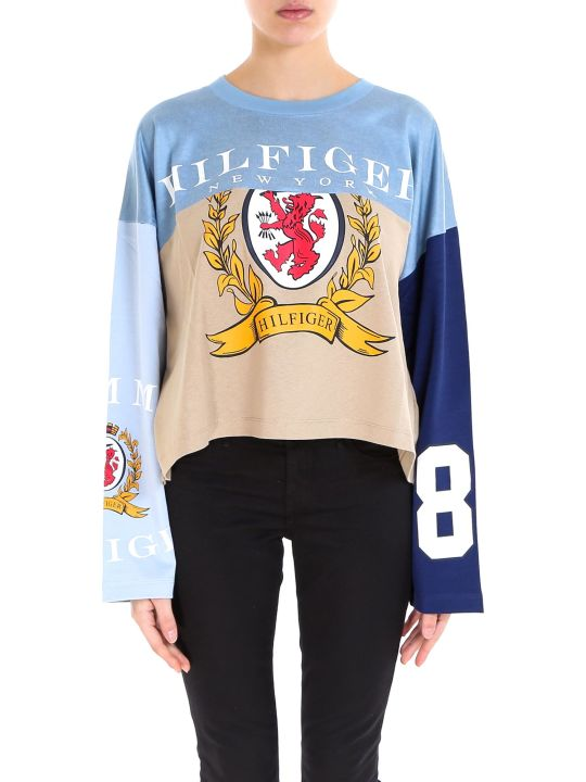Tommy Hilfiger Spliced Football T-shirt