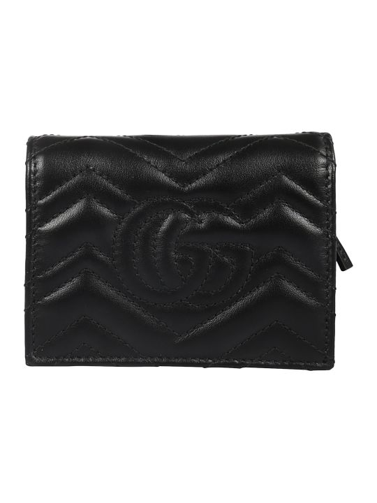 Gucci Mini Gg Marmout Card Holder