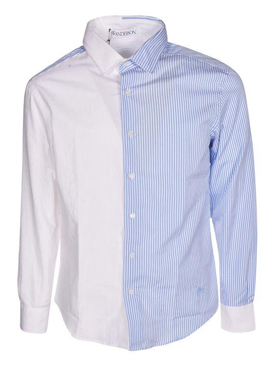 J.W. Anderson Jw Anderson Paneled Striped Shirt