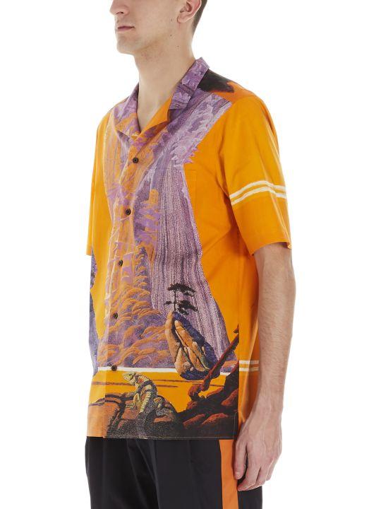 Valentino 'yellow City' Shirt