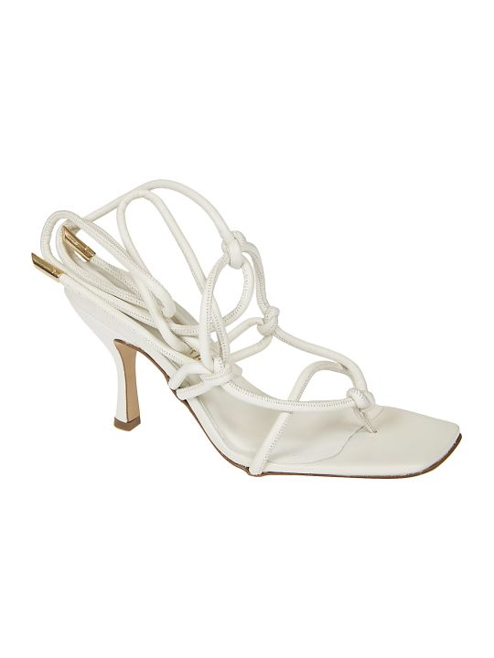 GIA COUTURE Aimee Laced Sandals