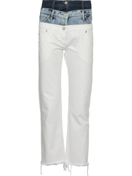Natasha Zinko Tri-waist Denim Jeans