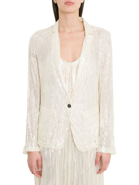 Forte_Forte Lurex Silk Chiffon Jacket