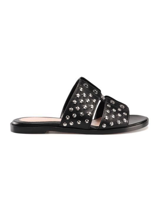 Alexander McQueen Stud Embellished Sandals