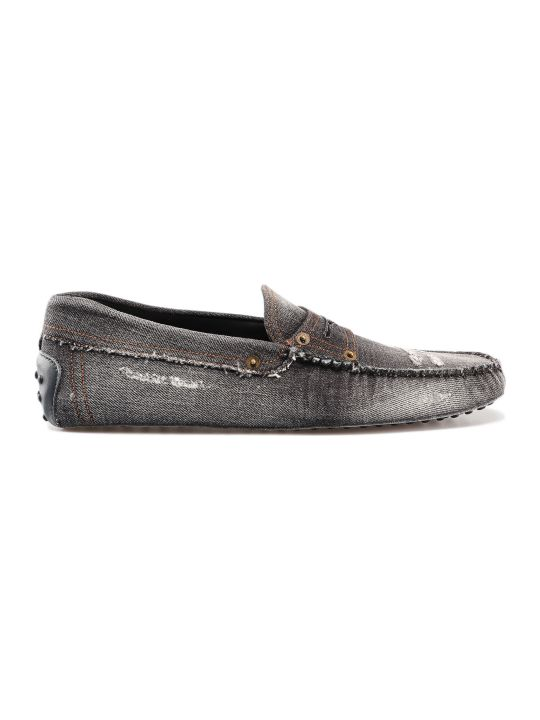 Tod's Denim Loafers