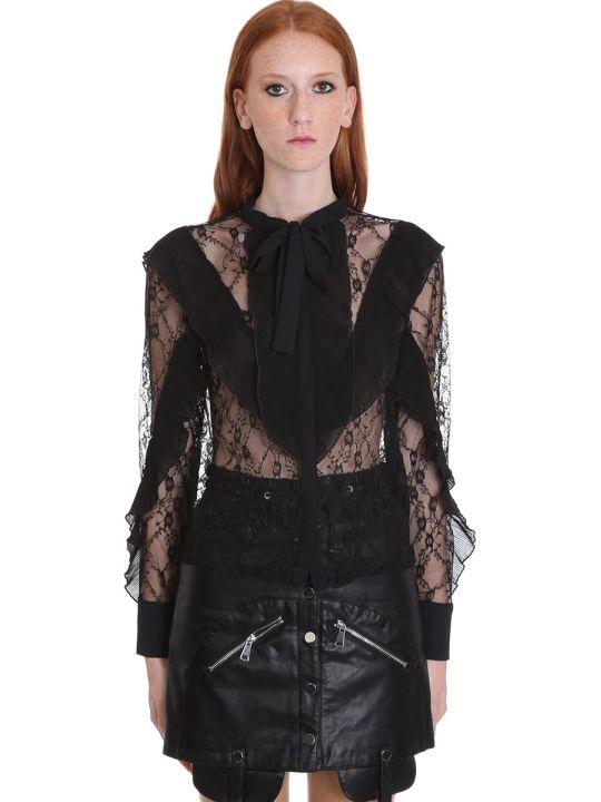 TPN3 Shirt In Black Cotton