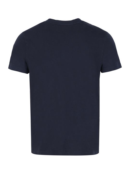 Moncler Crew-neck Cotton T-shirt