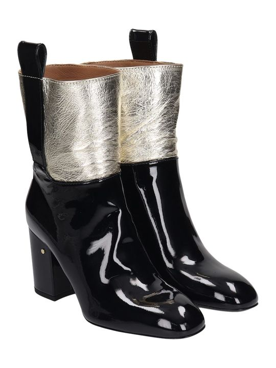 Laurence Dacade Vico High Heels Ankle Boots In White Leather