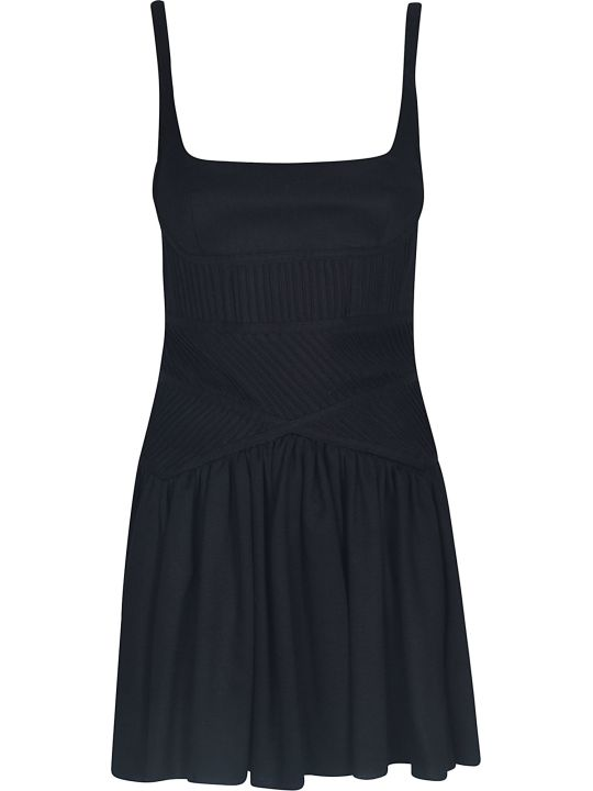Giovanni Bedin Short Back Zipped Dress