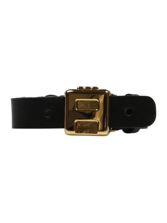 AMBUSH Logo Leather Bracelet