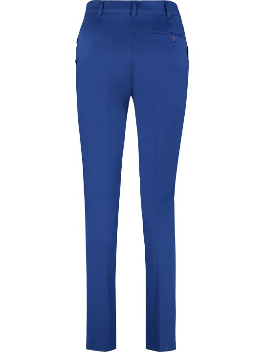 Max Mara Studio Baldo Cotton Gabardine Trousers