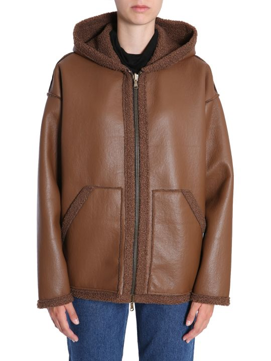 Forte Couture Reversible Eco Shearling Jacket