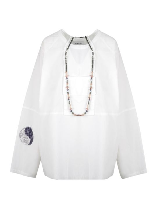 AMBUSH Oversized Long-sleeve Blouse