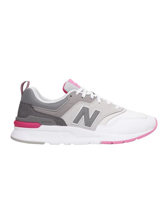 New Balance 997 Sneakers In White Tech/synthetic