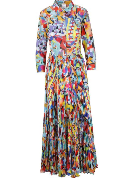 Sara Roka Pleated Dress