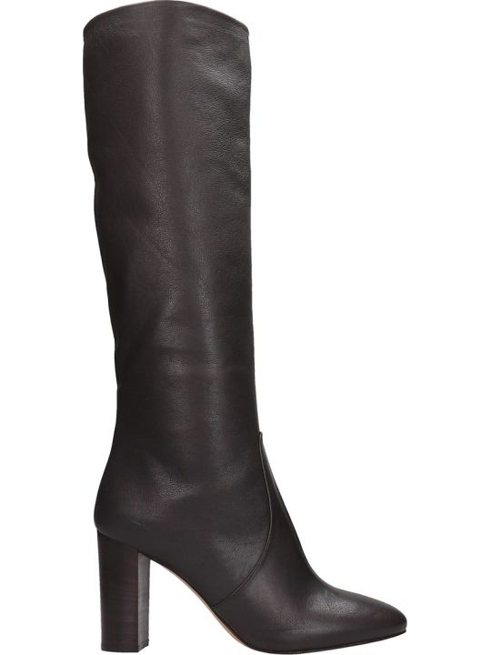 The Seller High Heels Boots In Brown Leather