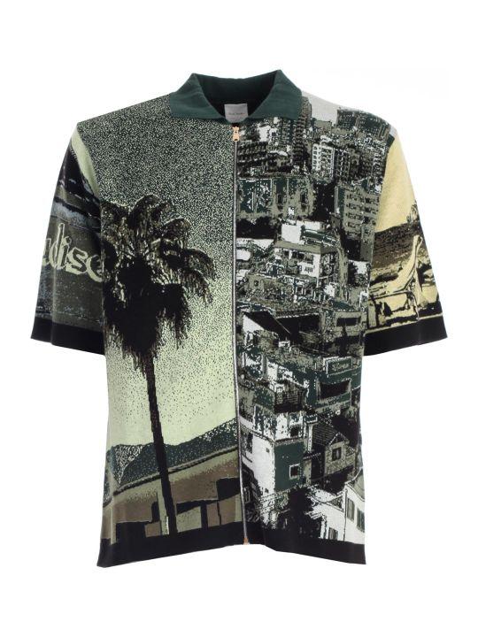 Paul Smith Printed Polo Shirt