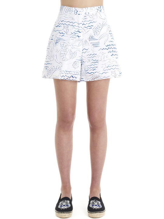 Kenzo 'wave Mermaid' Shorts