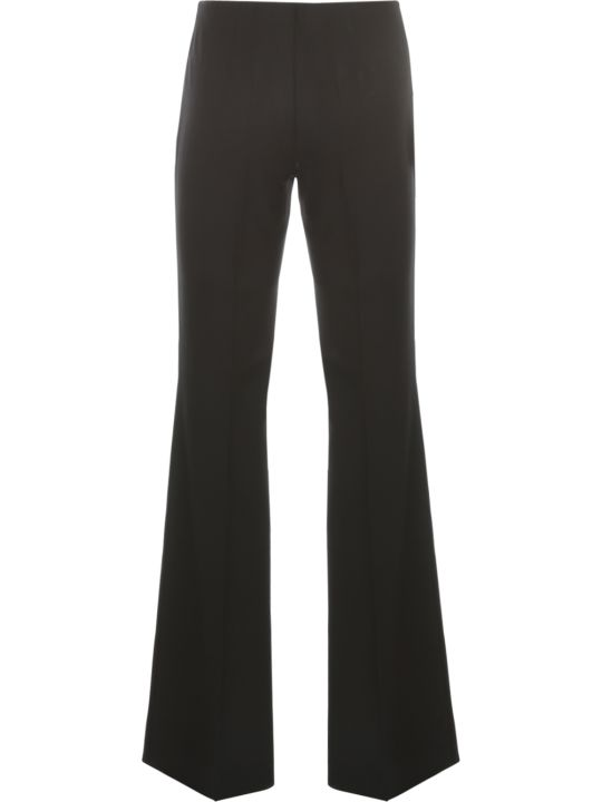 Parosh Long Flared Pants Bistretch