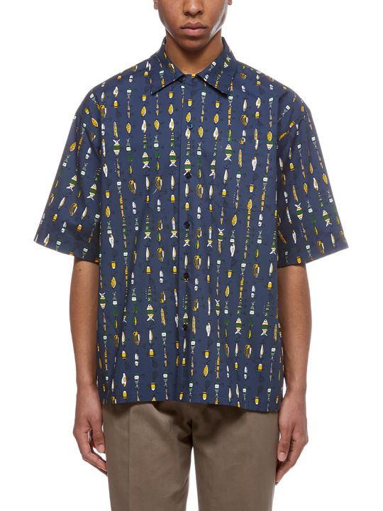 Marni Oversized Printed Shirt