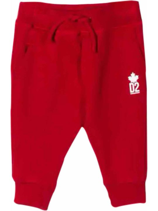 Dsquared2 Cotton Sports Trousers