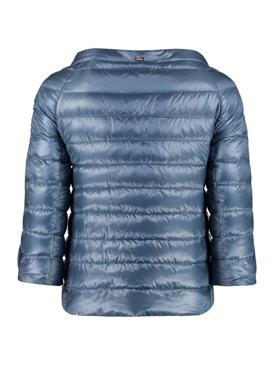 Herno Elsa Quilted Superlight Down-jacket