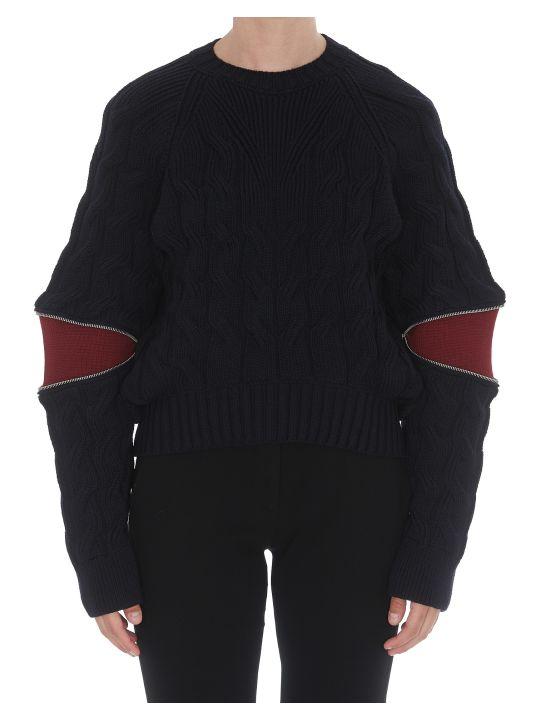 Alexander McQueen Cut Out Pullover