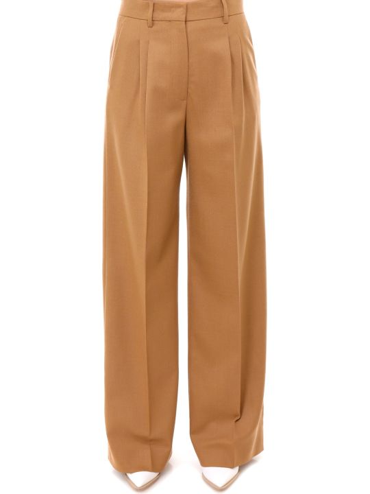 Fendi Birds Eye Wool Trousers