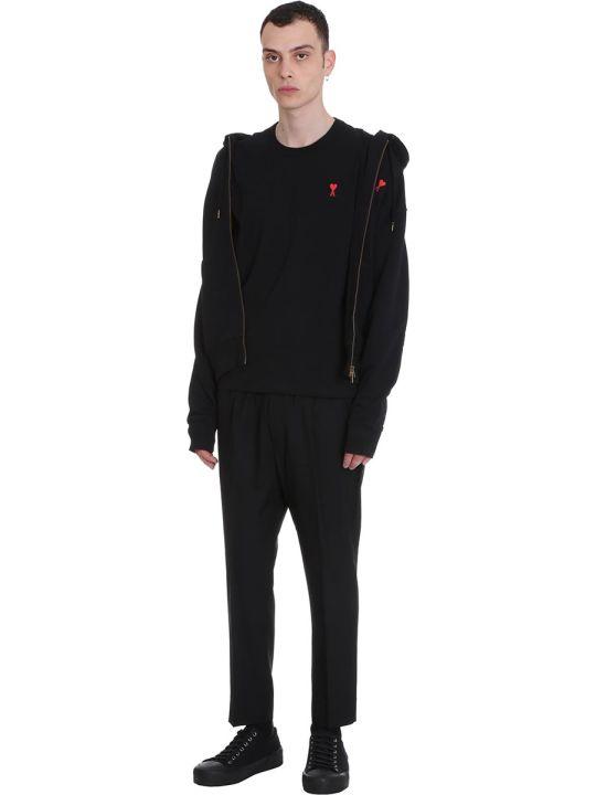 Ami Alexandre Mattiussi Pants In Black Polyester