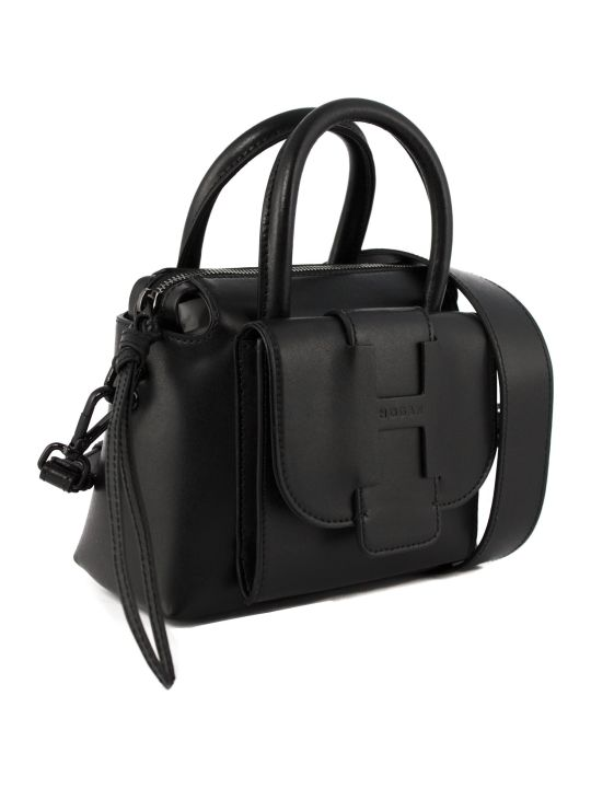 Hogan Black Leather Bag