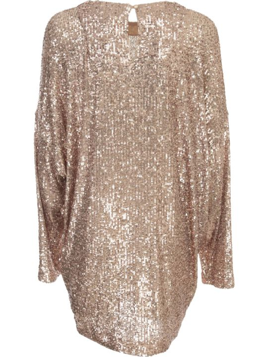 In The Mood For Love Soft Sequin Mini Dress