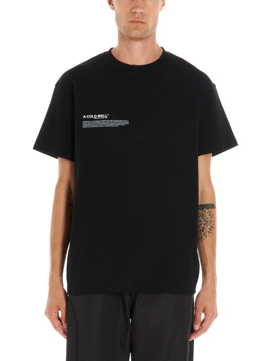 A-COLD-WALL 'mission Statment' T-shirt