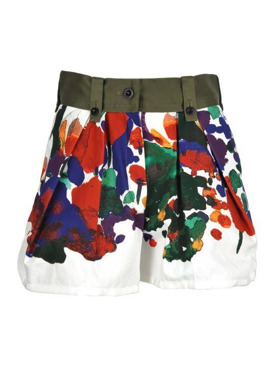 Sacai Sacai Printed Shorts